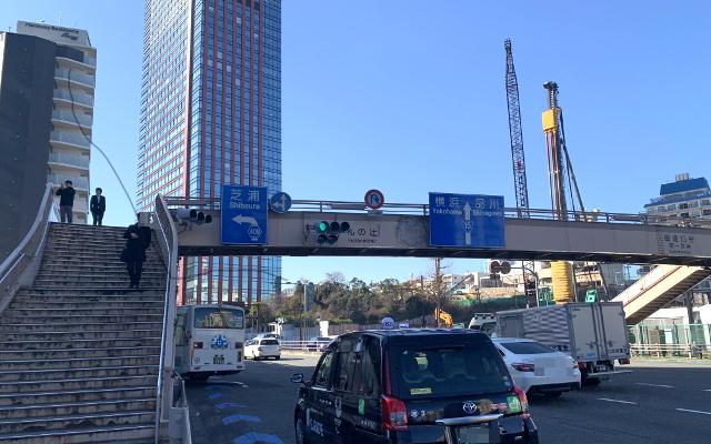 Fuda-no-tsuji on the way to Ramen Jiro