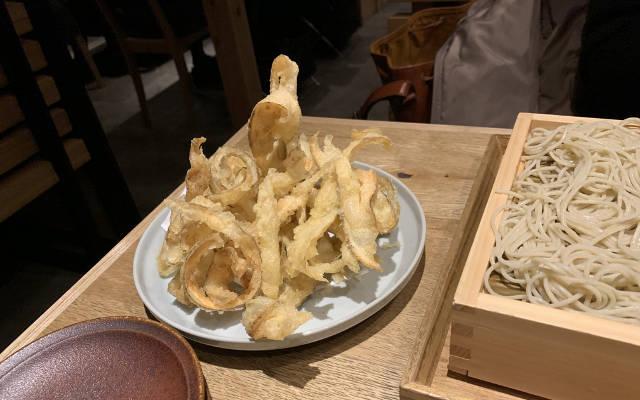Gobo (burdock root) tempura